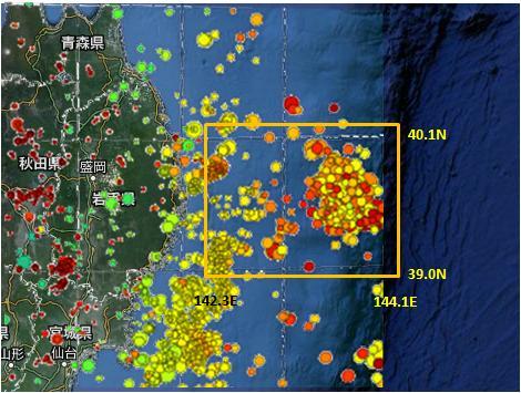 三陸沖GR則MAP2