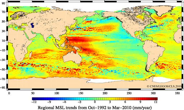 ESA海面変化s